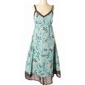 Patch - Blue & Brown Floral Dress
